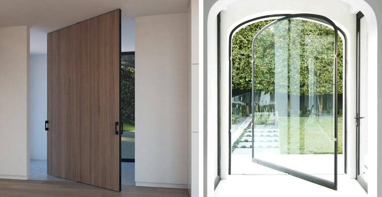 Pivoterende deuren of taatsdeuren