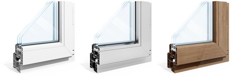 Soorten ramen: welke basismaterialen bestaan er?